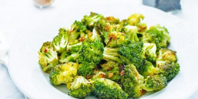 Brócoli con ajo y limón