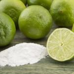 limon y bicarbonato de sodio