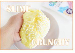 slime crunchy